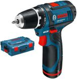 Bosch GSR 10,8-2-LI Professional + L-Boxx, 2x 1.3Ah
