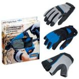 Zobrazit detail - Narex MG-Triple Pack - Profi pracovní rukavice set 3 párů SW, HD, SD