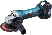 Makita BGA452RFE - 115mm, 18V/3,0Ah, úhlová bruska