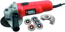 Zobrazit detail - Black&Decker CD115A5 - 115 mm; 710W, úhlová bruska