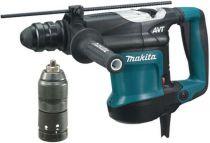 Zobrazit detail - Kombinované kladivo Makita HR3210FCT - 850 W; 6.4 J; AVT; 5.1 kg, pneumatické kladivo SDS-Plus