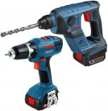 SET Bosch GBH 14,4 V-LI Compact Professional + GSR 14,4-2-LI Professional