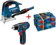 Zobrazit detail - Bosch GST 140 BCE + GSR 10,8-2-LI Professional