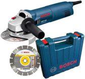 Zobrazit detail - Bosch GWS 1400 Professional + Kufr + Dia kotouč, úhlová bruska