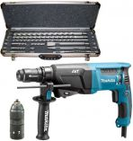 Makita HR2611FT + sada D-19174