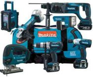 Makita DK18014 - 18V 7-dln sada aku nad