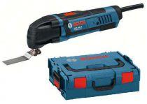 Zobrazit detail - Multifunkční pila Multi-cutter Bosch GOP 250 CE Professional, L-BOXX + 36dílné příslušenství