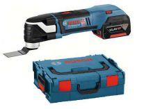 Zobrazit detail - Aku multifunkční nářadí Bosch GOP 14,4 V-EC Professional v L-Boxxu, 2x 4.0Ah, aku multibruska