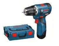 Zobrazit detail - Bosch GSR 10,8 V-EC Professional, 2x 2.0Ah + L-Boxx, bezuhlíková aku vrtačka bez příklepu