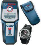 Bosch GMS 120 Professional univerzální detektor + pracovní hodinky Bosch