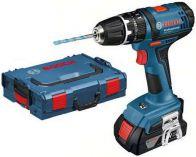 Zobrazit detail - Bosch GSB 18-2-LI Professional + L-Boxx (2x 1,5 Ah), aku vrtačka s příklepem