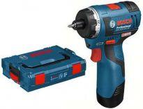 Zobrazit detail - Bosch GSR 10,8 V-EC HX Professional, aku 2x 2.0Ah, L-Boxx, bezuhlíkový aku šroubovák