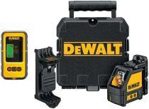 Zobrazit detail - Křížový laser DEWALT DW088KD s detektorem laseru DE0892, Profi křížový laser