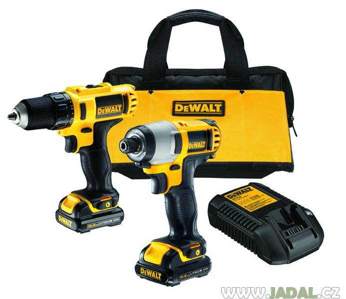 Zvtit fotografii - Combo sada DeWALT DCK211S2 (DCD710S2 + DCF815S2)
