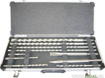 Zobrazit detail - 10-ti dílná sada vrtáků a sekáčů do kladiv SDS-Plus Makita D-19174