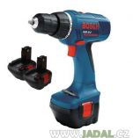 Zobrazit detail - Bosch GSR 12-2 V Professional 3x aku 12V/1,5Ah
