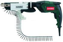 Zobrazit detail - Metabo SE 4000 M + SM 5-55 - 400W, 0 - 4000ot/min, 1.7kg, elektrický šroubovák na sádrokarton