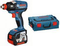 Zobrazit detail - Bosch GDX 14,4 V-EC Professional, 2x 4.0Ah, 175Nm, 1.6kg, L-Boxx, aku rázový bezuhlíkový utahovák