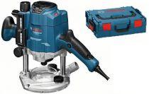 Zobrazit detail - Horní frézka Bosch GOF 1250 CE Professional - 1250W, 6-8mm, 60mm, 3.6kg, L-Boxx