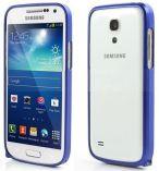 Zobrazit detail - Hliníkový ochranný rámeček - Ochranný kryt Samsung S4 mini (Galaxy i9190) modrý bumper