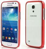Zobrazit detail - Hliníkový ochranný rámeček - Ochranný kryt Samsung S4 mini (Galaxy i9190) červený bumper
