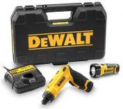 Zobrazit detail - DeWALT DCF680G2F úhlový aku šroubovák + aku svítilna 7.2V /1.0Ah