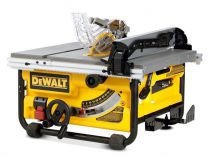 Zobrazit detail - Dewalt DW745, 2000W, prořez 610x77mm, 22kg, stolová pil + podstavec DE7400
