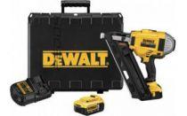 Zobrazit detail - DeWalt DCN692P2, 2x 18V/4.0Ah Li-lon, XR, 4.2kg, Bezuhlíková aku hřebíkovačka