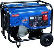 Scheppach SG 6500 - 5.500W, 3x 230V, 1x400V, 84.5kg, rámová elektrocentrála s AVR regulací