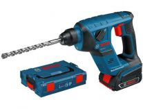 Zobrazit detail - Bosch GBH 18 V-LI Compact Professional - 2x 18V/2.0Ah, L-Boxx, aku pneumatické kladivo