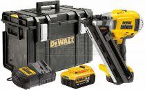 Zobrazit detail - DeWalt DCN692P2K, 2x 18V/5.0Ah XR Li-lon, 4.2kg, Bezuhlíková aku hřebíkovačka + kufr DS400