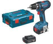 Zobrazit detail - Bosch GSR 14,4-2-LI Professional - 2x 14.4V/1.5Ah, L-Boxx, aku vrtačka bez příklepu