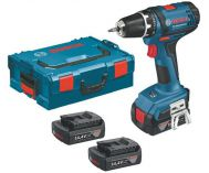 Zobrazit detail - Bosch GSR 14,4-2-LI Professional - 3x 14.4V/1.5Ah, L-Boxx, aku vrtačka bez příklepu