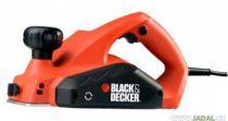 Zobrazit detail - Elektrický hoblík Black&Decker KW712 - 650W; 82mm; 3.13kg