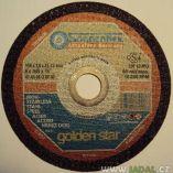 Zobrazit detail - Řezný kotouč Goldenstar AS60QB 115 x 1,0 x 22,23 mm na nerez