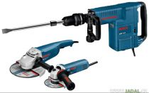 Bosch GSH 11 E + GWS 22-230 JH + GWS 850 C