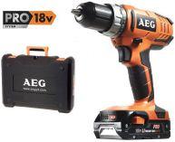 Zobrazit detail - AEG BS 18 G2 Li-152C - 2x 18V/1.5Ah Li-Ion, 1.8 kg, aku vrtačka bez příklepu v kufru