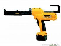 Zobrazit detail - Aku vytlačovací pistole na tmely DeWALT DC540K pro náplně 310ml