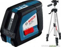 Zobrazit detail - Bosch GLL 2-50 Professional + stativ BS 150 Professional, Profi křížový laser