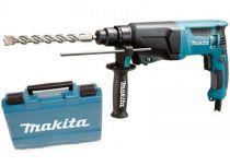 Zobrazit detail - Kombinované kladivo Makita HR2610- 800W, 2.4J, 2.8kg, pneumatické kladivo SDS-Plus