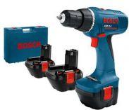 Zobrazit detail - Bosch GSR 12-2 V Professional 3x aku 12V/1,5Ah, aku vrtačka bez příklepu