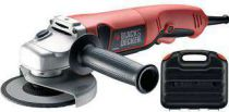 Zobrazit detail - Black&Decker KG1200K; 125 mm; 1200W, úhlová bruska