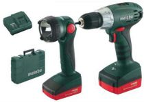 Metabo COMBO 14,4 V - BS 14.4 LI + ULA 14,4 - 18V