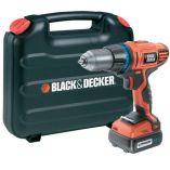 Zobrazit detail - Black&Decker HP148F4LK - 14,4V/1,1Ah Aku vrtačka s příklepem