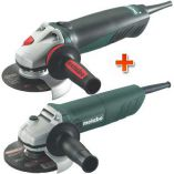 Metabo WE 14-125 PLUS + W 780, úhlová bruska