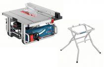 Zobrazit detail - Bosch GTS 10 J Professional - 1800W, 254mm + Pracovní stůl GTA 600, Stolní kotoučová pila-Cirkulárka