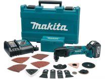 Zobrazit detail - Aku multifunkční nářadí Makita BTM50RFEX4 - 2x 18V/3.0Ah, aku multibruska