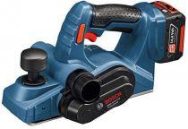 Zobrazit detail - Bosch GHO 18 V-LI Professional - 2x 18V/3.0Ah Li-ion, 82mm; 2.6kg, hoblík