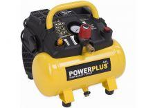 Zobrazit detail - Bezolejový kompresor PowerPlus POWX1721 - 1100W, 8bar, 180l/min, 6L, 9.5kg
