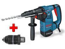 Zobrazit detail - Kombinované kladivo Bosch GBH 3-28 DFR Professional - 800W; 3.5J; 3.6kg, pneumatické kladivo SDS-Plus